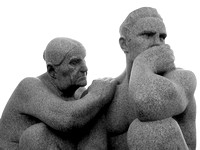 Sculptures from Vigeland Park, Oslo