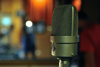 Old Neumann Microphone